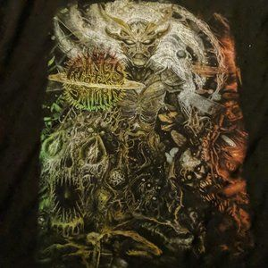 Rings Of Saturn Collage T-Shirt